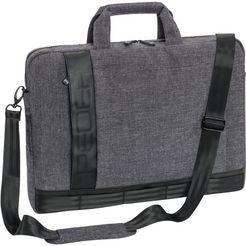 pedea notebooktas tot 36,6 cm (15,6 inch) »'fancy' met draagriem« grijs