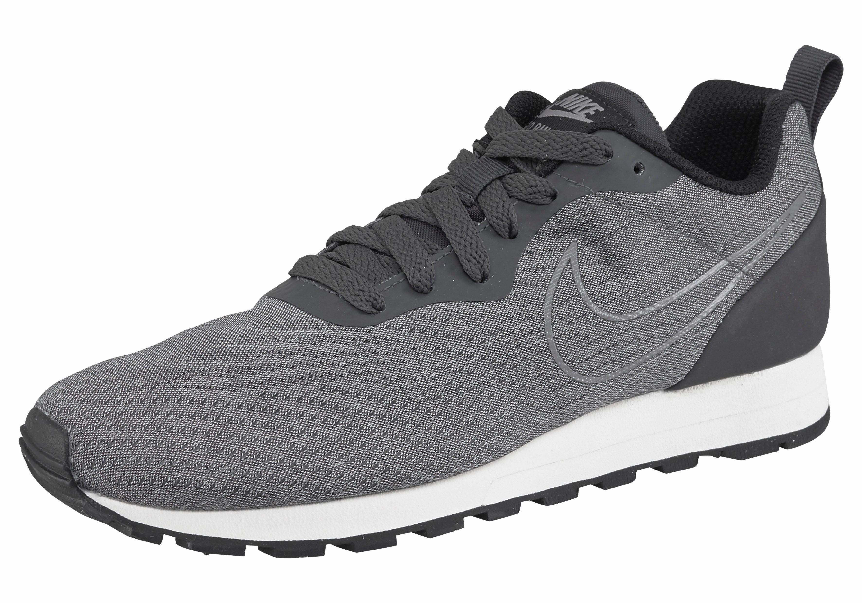 Chaussures De Sport Nike Zwarte Md Runner 2 Eng Wmns De Maille TkMBXR40Og