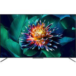 "tcl qled-tv 50c715x1, 127 cm - 50 "", 4k ultra hd, smart-tv zwart"