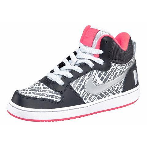 Nike NU 15% KORTING: NIKE sneakers Court Borough Mid Print (GS)