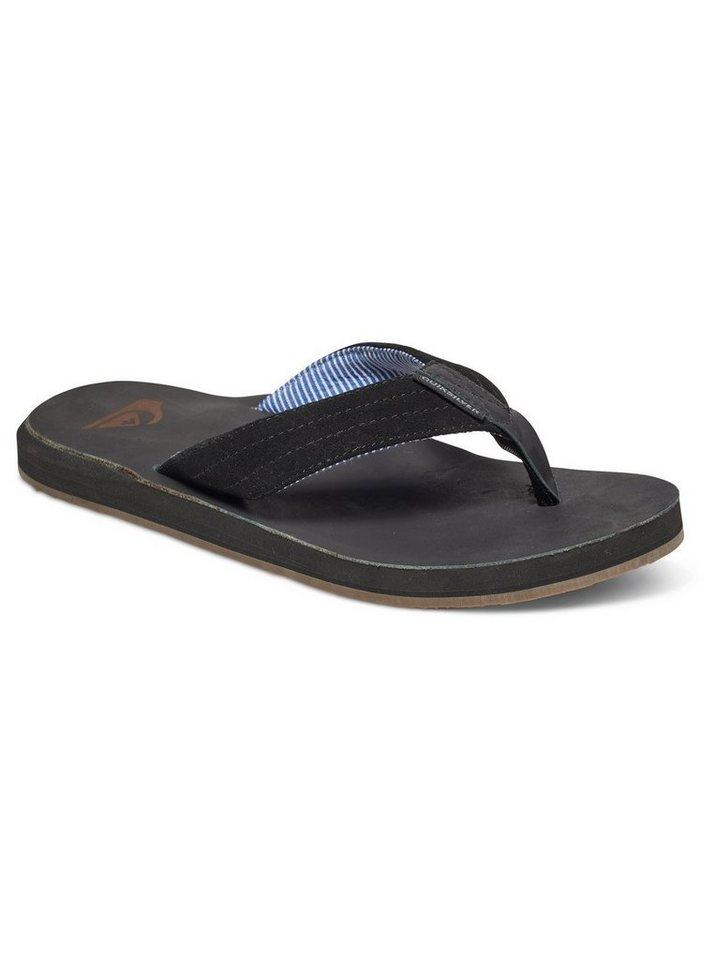 NU 20% KORTING: Quiksilver Suède sandalen »Carver – Wildleder-Sandalen«