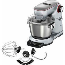 bosch-keukenmachine optimum »mum9ax5s00«, 1500 w, met geïntegreerde weegschaal zilver