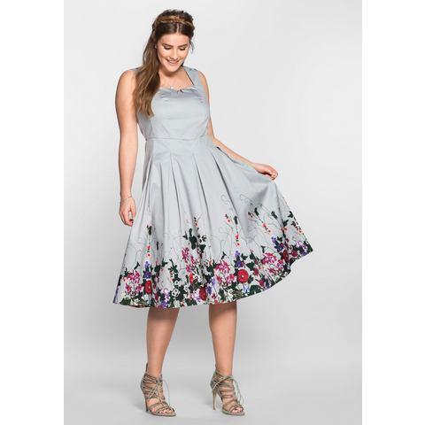 Joe Browns Satijnen jurk met bloemenprint