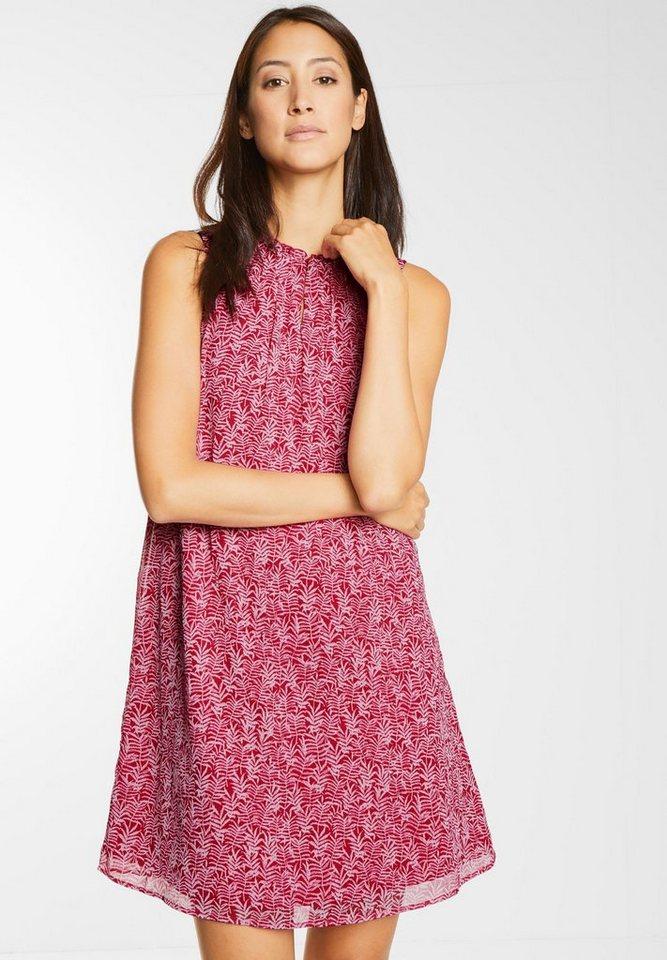 Street One Mouwloze jurk Odelia roze