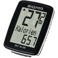 sigma sport fietscomputer, zwart, »bc 9.16« zwart