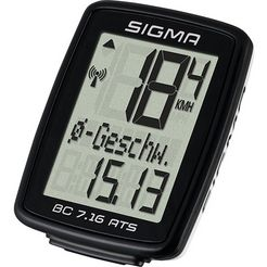 sigma sport fietscomputer bc 7.16 ats draadloos zwart