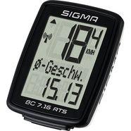 sigma sport fietscomputer, zwart, »bc 7.16 ats«