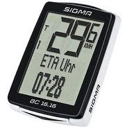 sigma sport fietscomputer zwart, »bc 16.16«
