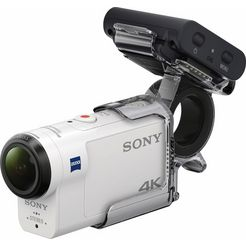sony fdr-x3000rfdi 4k (ultra hd) actioncam, gps, wlan, nfc, bluetooth, stofwerend wit