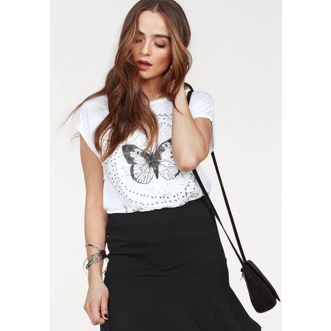 VERO MODA shirt met ronde hals »FELINA«