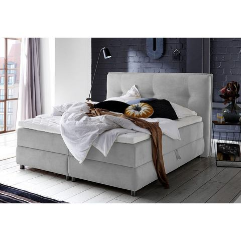 ATLANTIC HOME COLLECTION boxspring met bedkist en topmatras