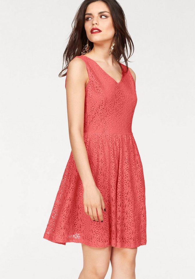 VERO MODA kanten jurk »SASHA« rood