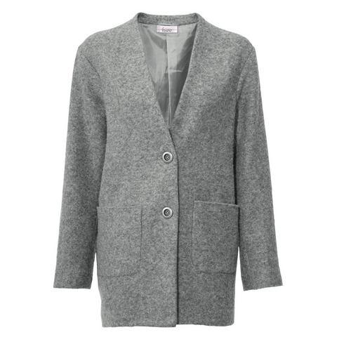 NU 21% KORTING: Wollen jasje