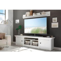 home affaire tv-meubel 'california', breedte 194 cm wit