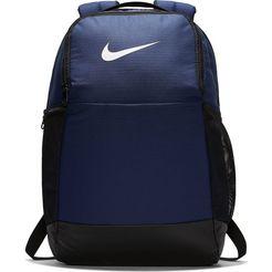 nike sportrugzak nike brasilia training backpack (medium) blauw