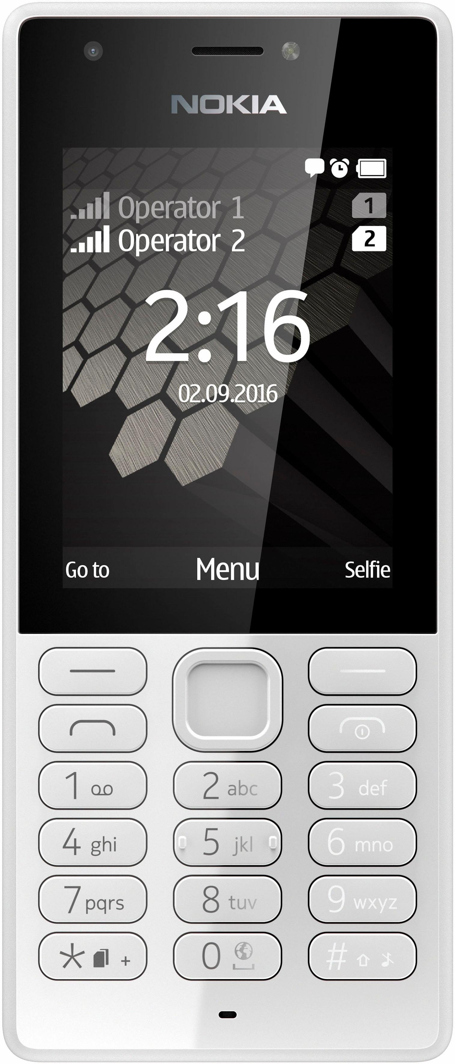 Nokia 216 - DualSIM-gsm, 6,1 cm (2,4 inch) display,S30+ - gratis ruilen op otto.nl
