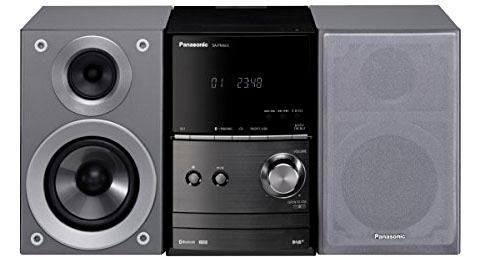 PANASONIC SC-PM602EG-S micro-hifi-set, Bluetooth, digitale radio (DAB+), RDS, 1x USB