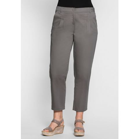 SHEEGO CASUAL chino van katoen-stretch