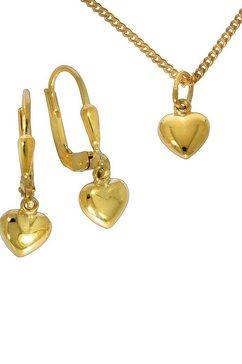 firetti sieradenset hart (set, 4-delig) goud