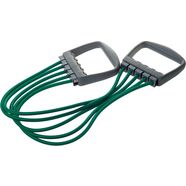 deuser sports expander, »elastikon, groen iv, 5 x 20 kg« groen