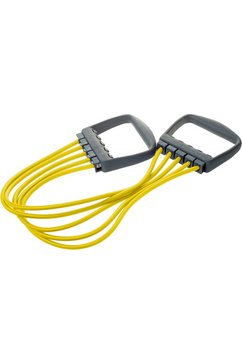 deuser sports expander, »elastikon geel i, 5 x 10 kg« geel