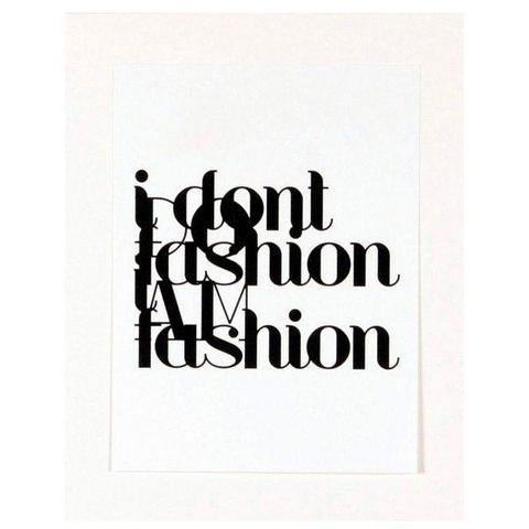 HOME AFFAIRE ingelijste artprint Fashion, 33x43 cm