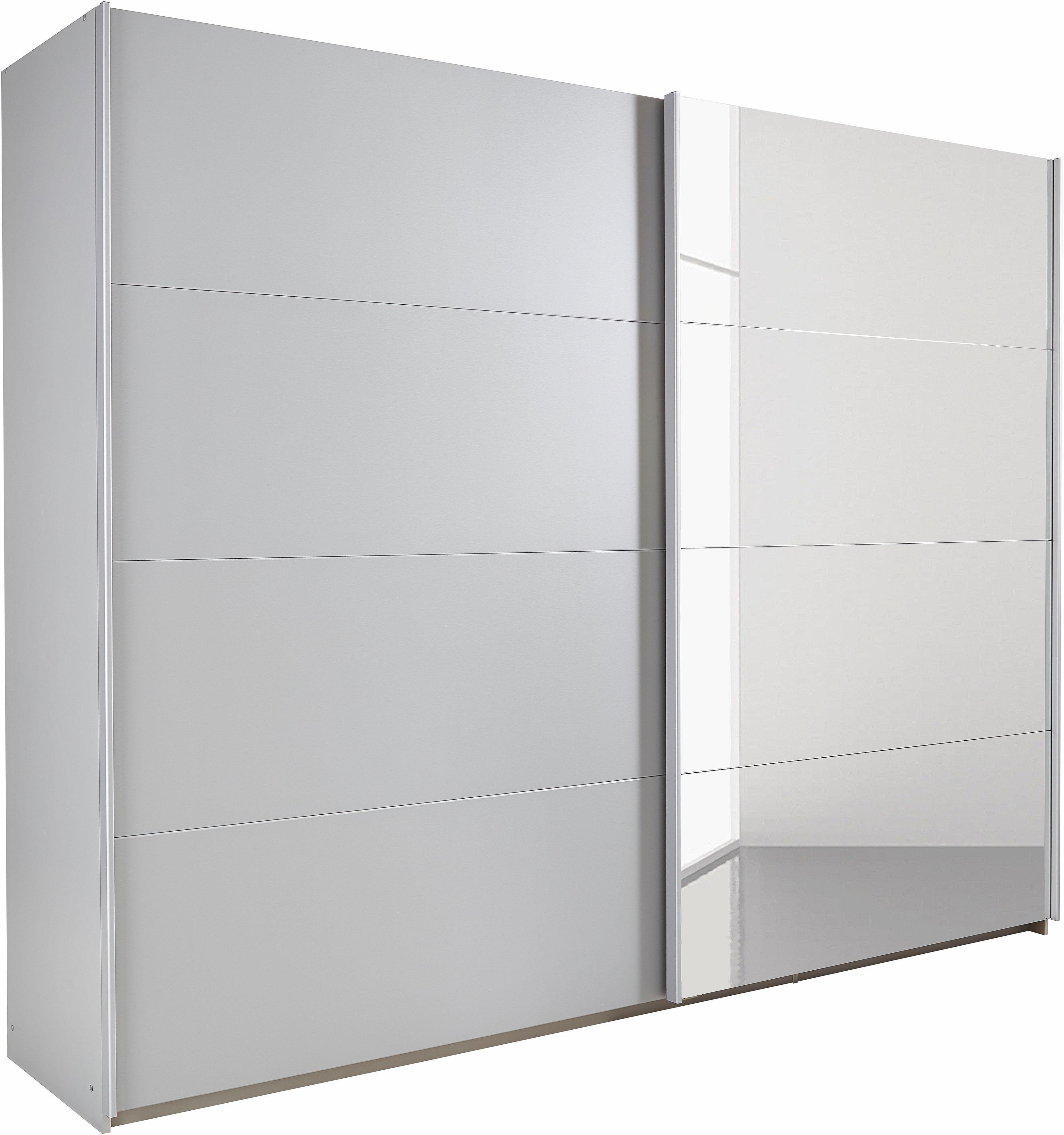 rauch zweefdeurkast met spiegel in de online winkel otto. Black Bedroom Furniture Sets. Home Design Ideas