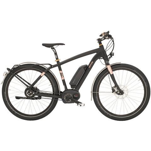 KETTLER He e-trekkingbike 36 V/250 W 27,5 inch NuVinci N380, vrijloop, »Boston E Beltdrive«