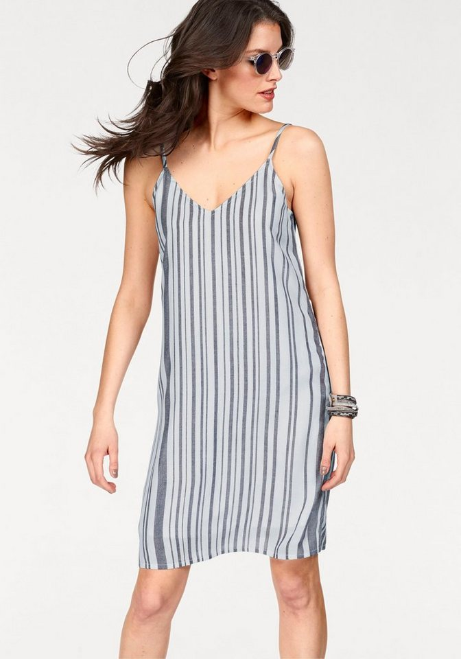 Aniston jurk met spaghettibandjes wit