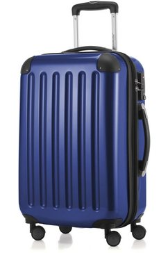 hauptstadtkoffer harde trolley 'alex', 4 wieltjes blauw