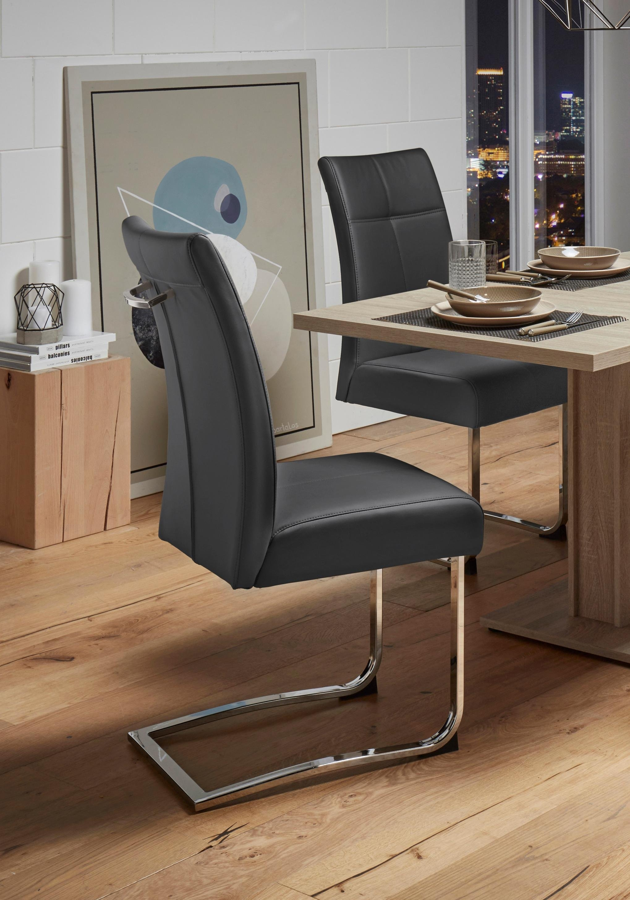 Vrijdragende stoel (set van 2) nu online kopen bij OTTO