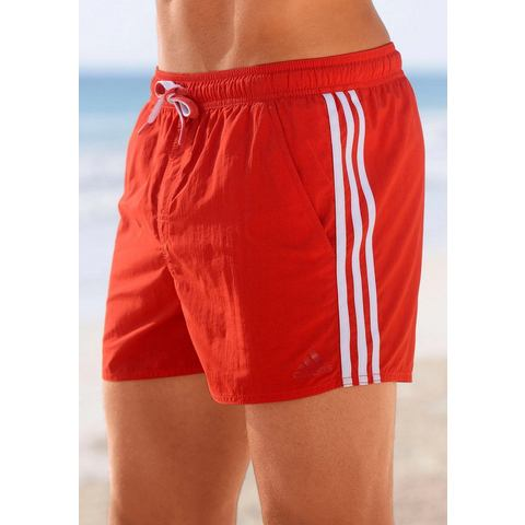 ADIDAS PERFORMANCE Zwemshort in 3 strepen-look