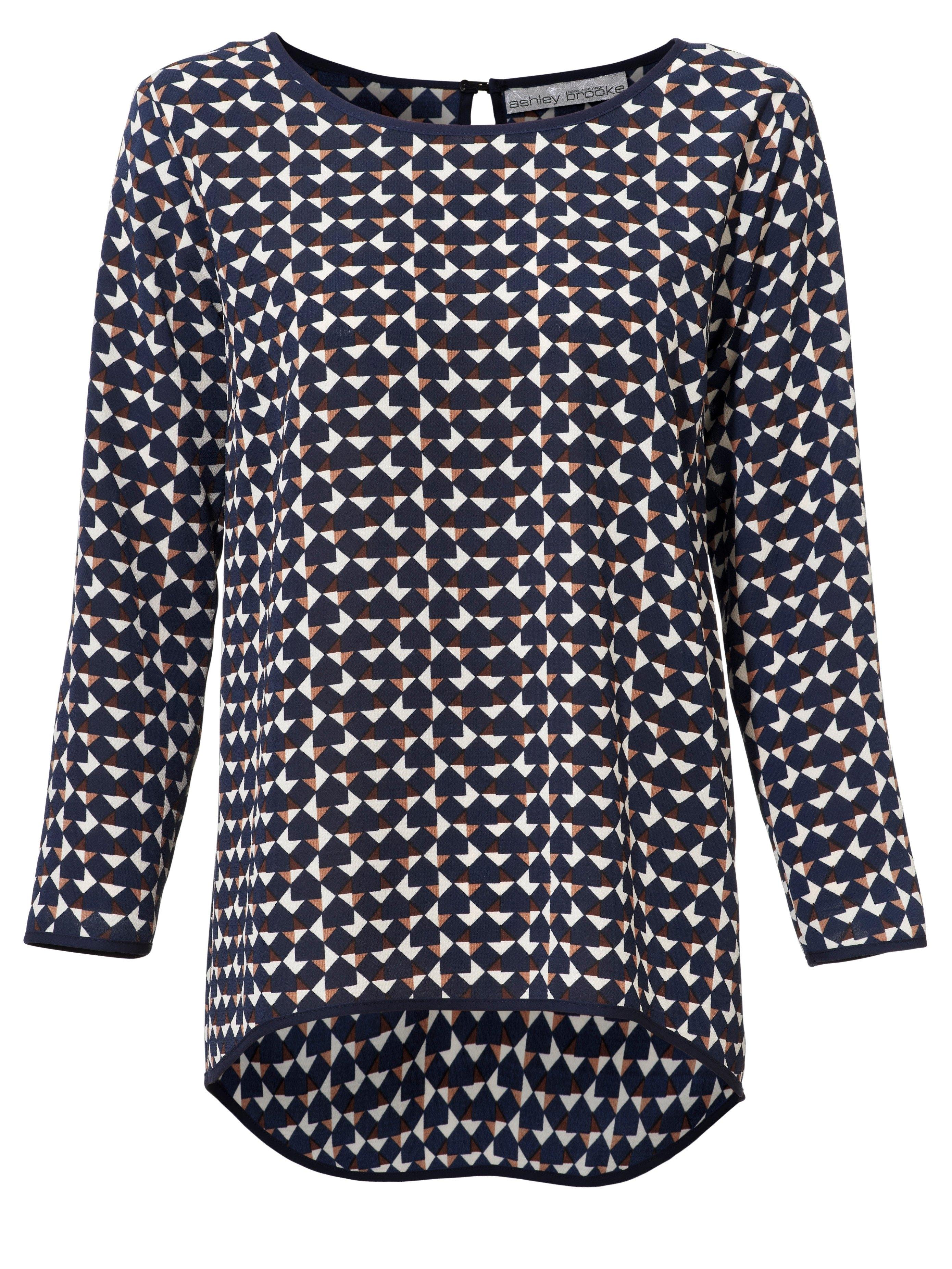 LINEA TESINI by Heine Gedessineerde blouse veilig op otto.nl kopen