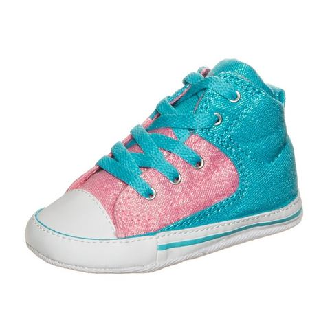 Converse NU 15% KORTING: Converse Chuck Taylor First Star High Street High sneakers voor baby's & peuters