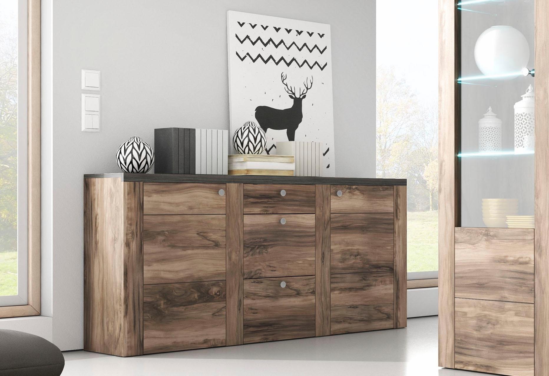 TRENDMANUFAKTUR dressoir Larona Breedte 176 cm - gratis ruilen op otto.nl