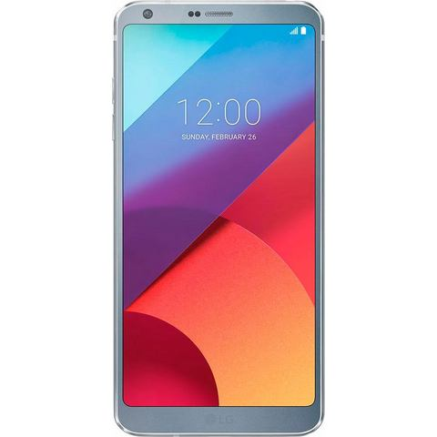 LG G6 smartphone, 14,5 cm (5,7 inch) display, LTE (4G), 13,0 megapixel, NFC