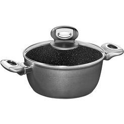 stoneline kookpan inductie (1-delig) zwart