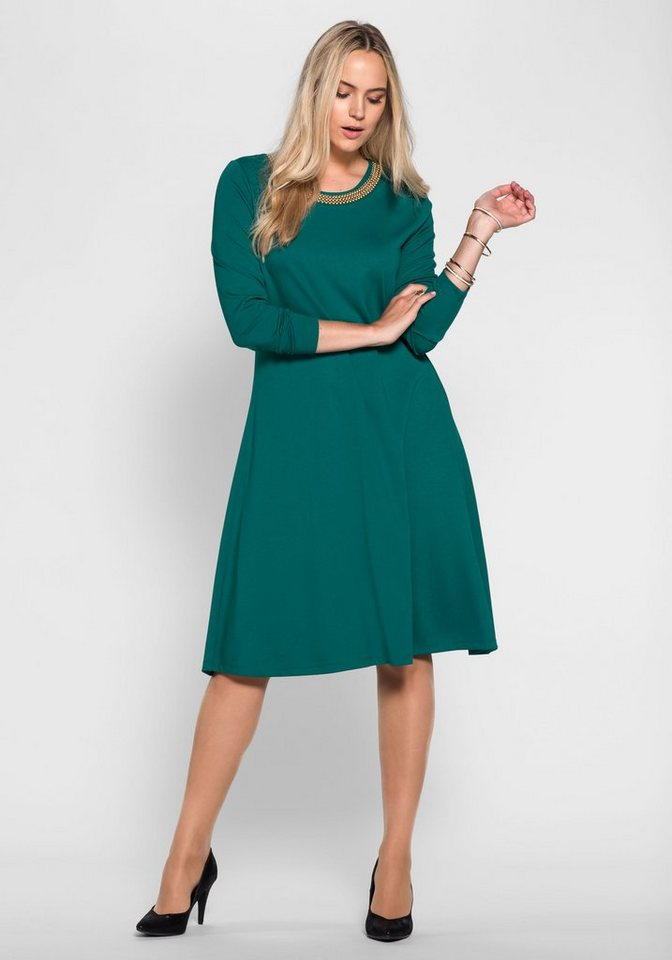 sheego Style Sheego Style jurk groen