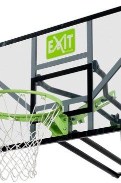exit basketbalring »galaxy wall-mount«, in 5 hoogten instelbaar zwart