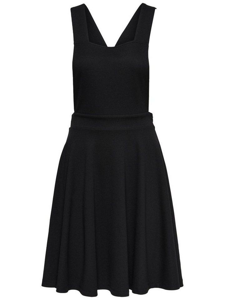 ONLY Spencer Mouwloze jurk zwart