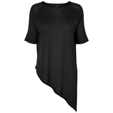 Vero Moda Asymmetrisch Shirt met 2/4 mouwen