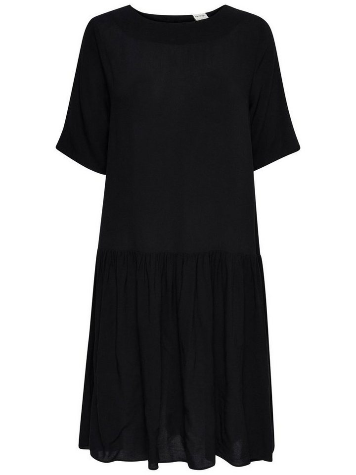 ONLY Peplum jurk zwart