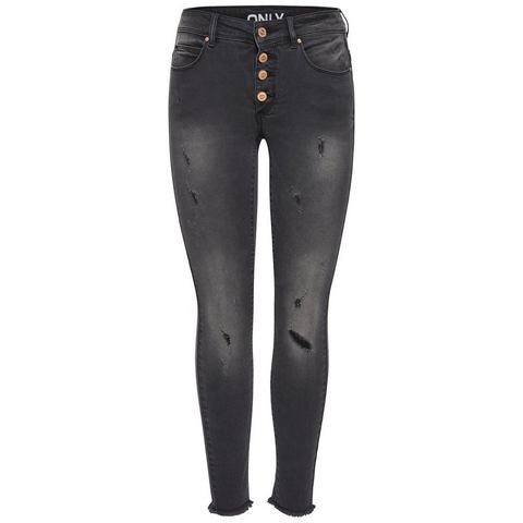Only Carmen reg crop Skinny jeans