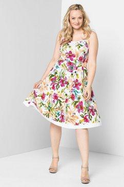 jurk in overgooiermodel