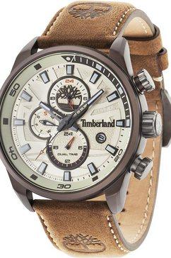 timberland multifunctioneel horloge »henniker ii, tbl14816jlbn.07« bruin