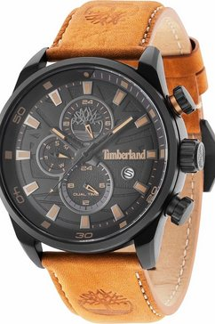 timberland multifunctioneel horloge »henniker ii, tbl14816jlb.02« bruin