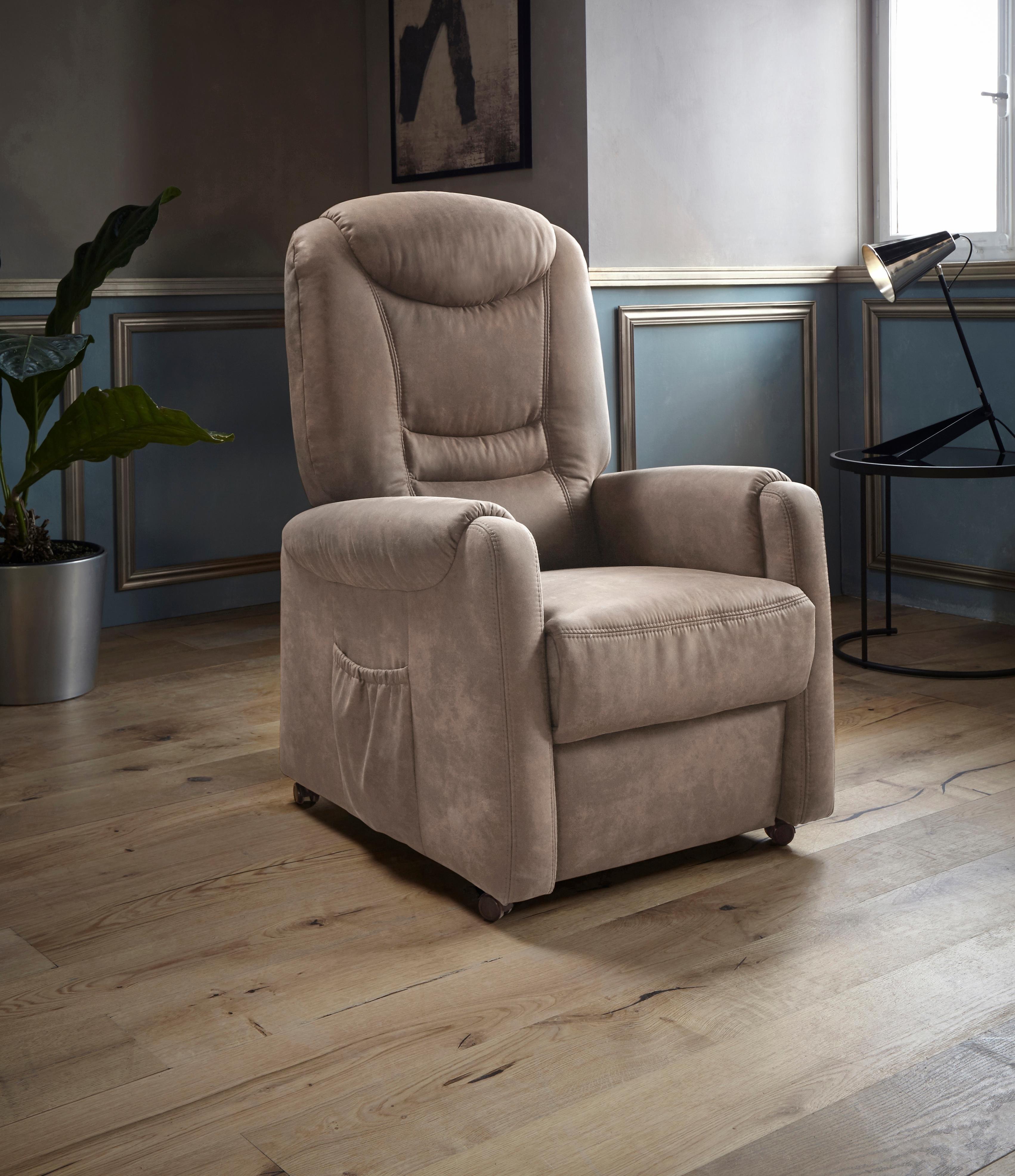 Places Of Style roomed relaxfauteuil 'Tamworth' in maat L, naar keuze met motor en opstahulp bij OTTO online kopen