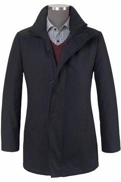 class international coat blauw