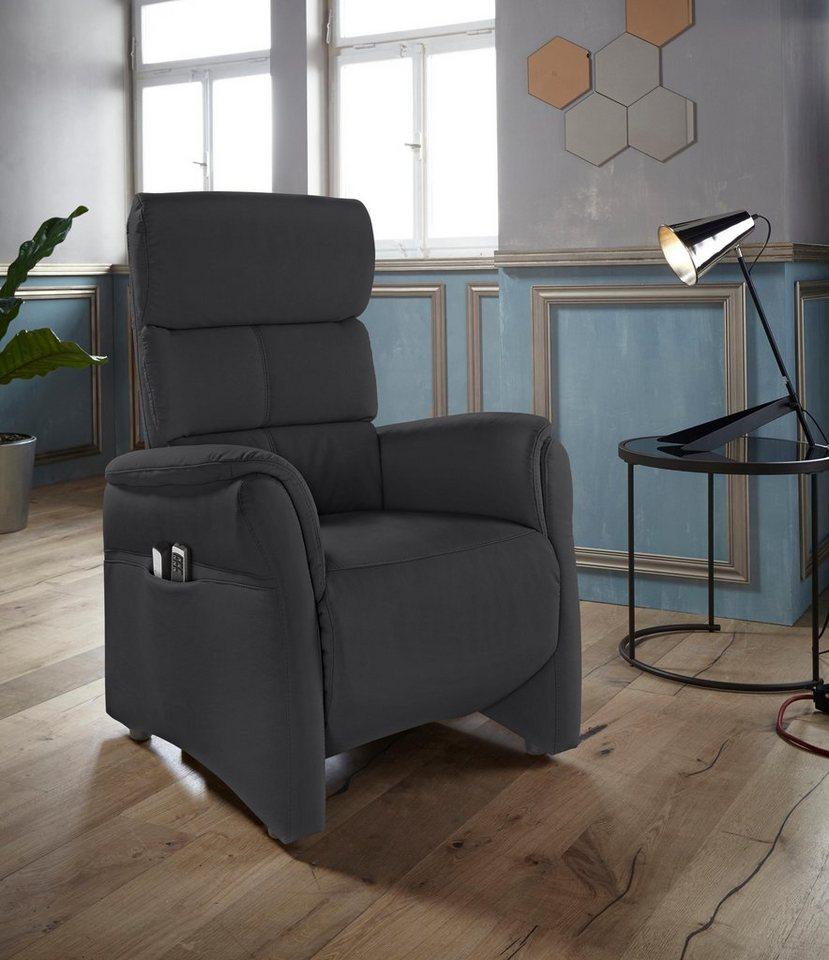 roomed relaxfauteuil met verstelbaar hoofdeind 'Geraldton', maat S, ook met verwarmingsmat/opstahulp