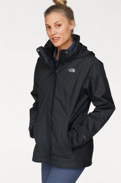 the north face functioneel 3-in-1-jack »evolve ii triclimate« zwart